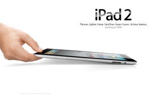 Apple iPad advert
