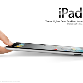 Apple iPad advert