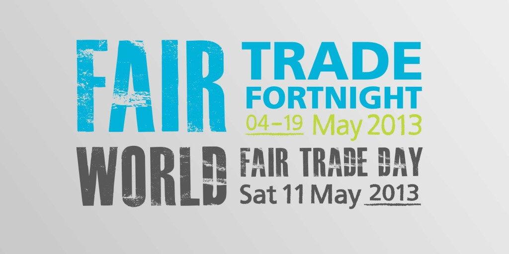 Fair trade fortnight logo graphics