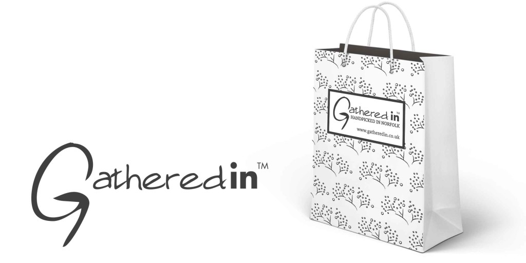 Gift bag with logo