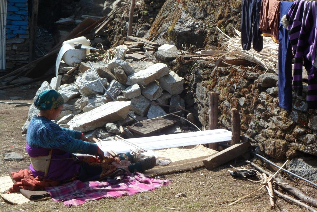 Fair Trade Weaving