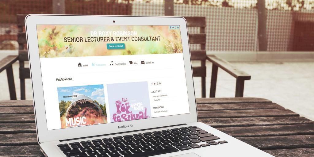 Roxy Robinson Website Design
