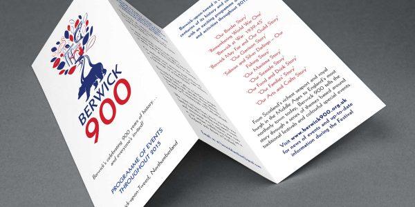 Berwick 900 Community Event Logo