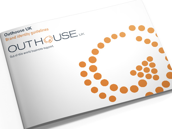 Brand Guidelines Design for Outhouse UK Executive Virtual Assistants