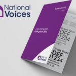 Refreshed Brand Identity for National Voices – Charity