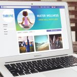 Water Wellness Brand Identity, THRIVVE