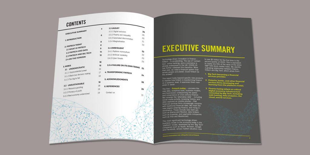 Finance-report-design