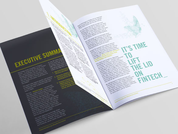 Fintech Report Design, The Finance Innovation Lab